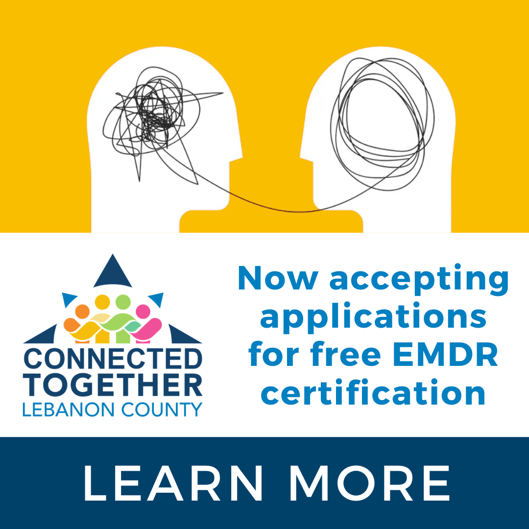 Connected Together Announces Phase 2:  EMDR Certification Scholarship Application