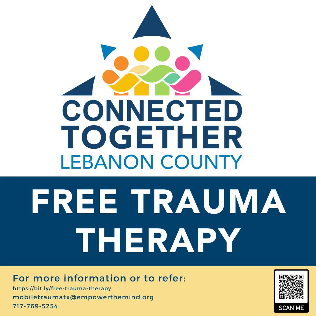 Lebanon County Provides Free Mobile Trauma Therapy