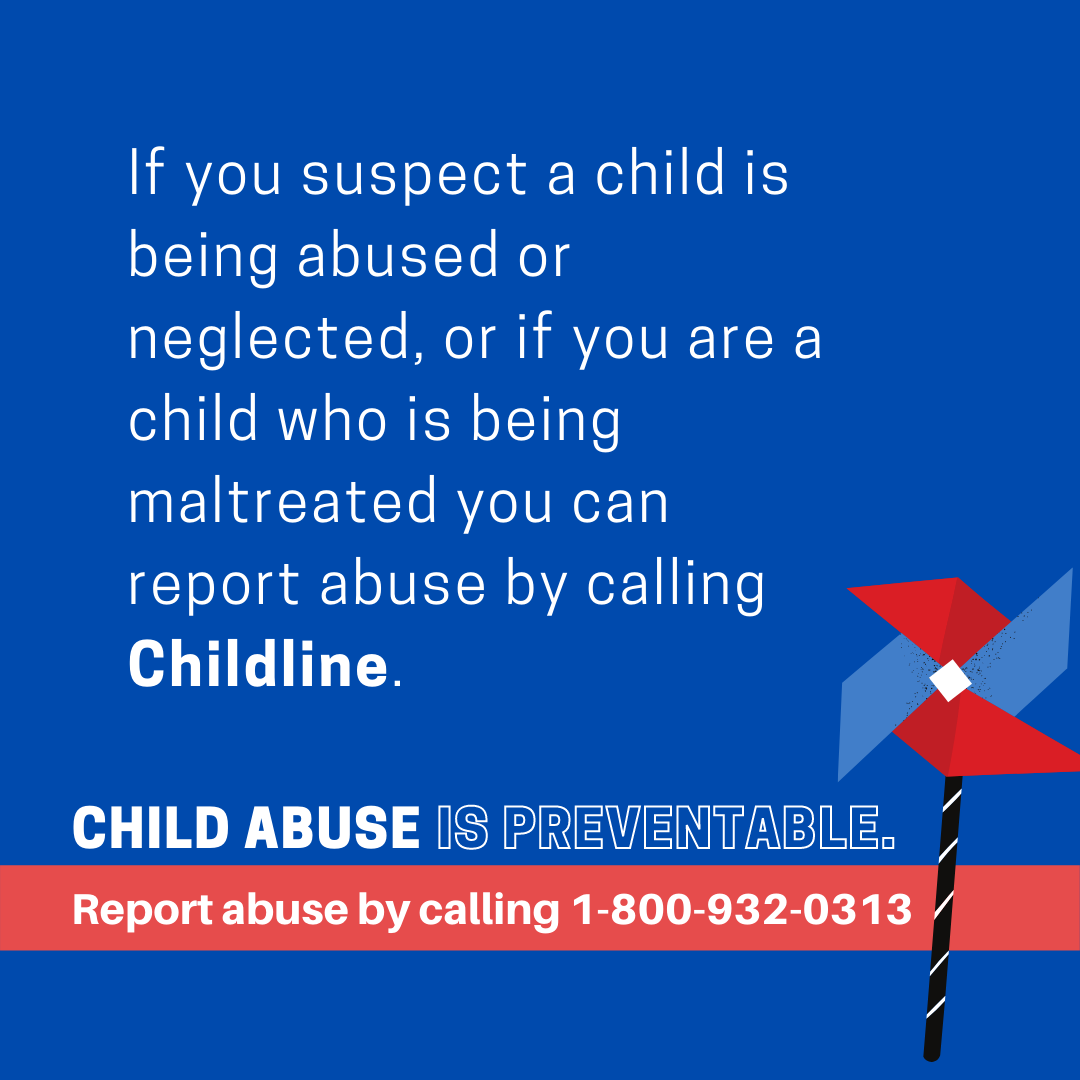 Pinwheel Project Series: What are the signs of Child Abuse?